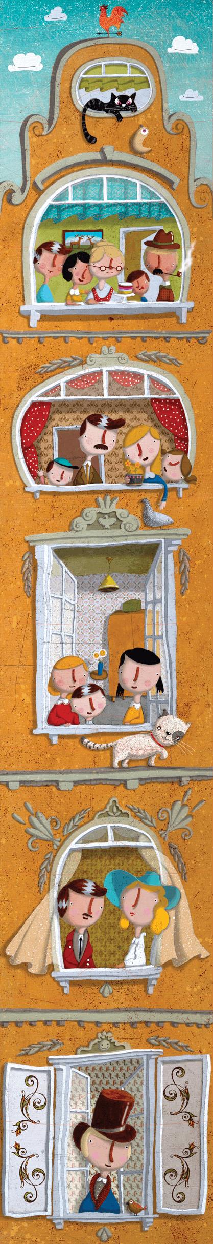 Opowiadaj fascynujące historie i układaj puzzle!
