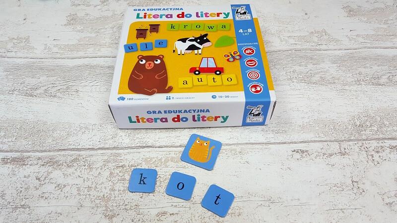 Litera do litery - gra do nauki czytania dla dzieci