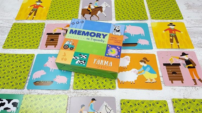 Memory na 3 sposoby - gra memory dla dzieci