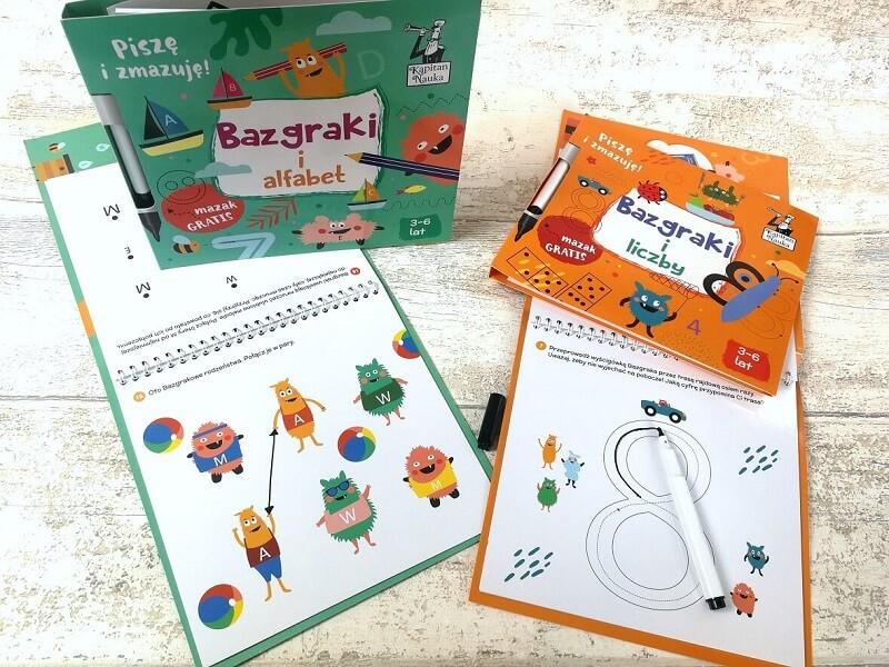 Bazgraki - ćwiczenia grafomotoryczne dla dzieci