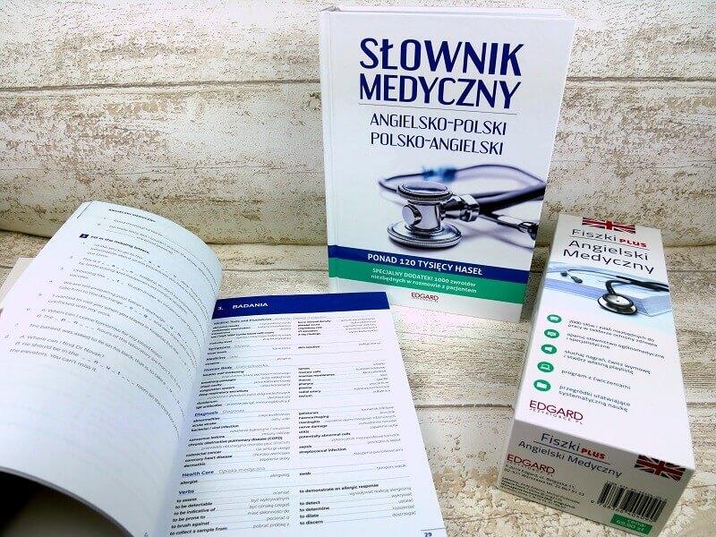 Angielski medyczny (Medical English) - książki, słownik, fiszki do nauki angielskiego dla lekarzy, pielęgniarek i studentów medycyny