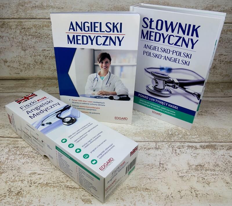 Angielski medyczny (English for Medical Purpose) - podręcznik, słownik i fiszki do nauki angielskiego dla pracowników służby zdrowia