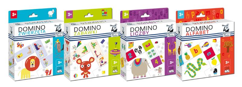 Domino - prezent na Dzień Dziecka