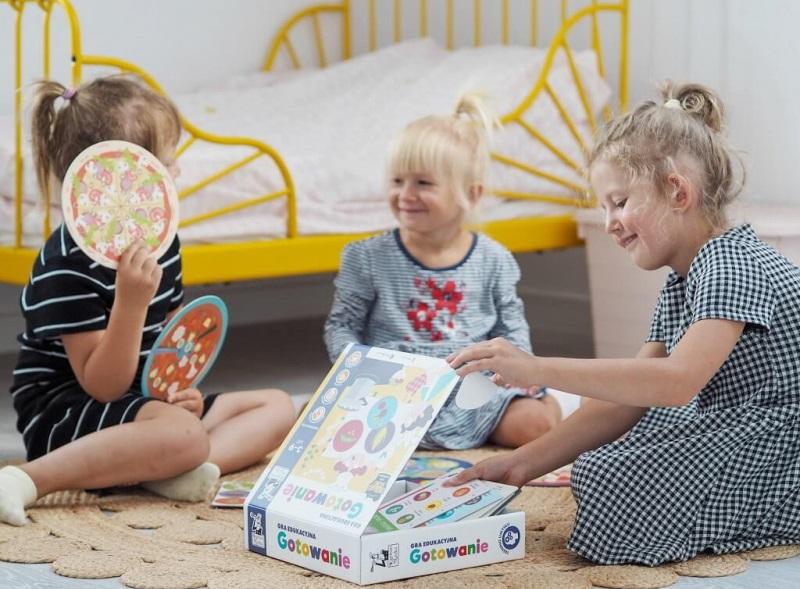 Gra Gotowanie - prezent pod choinkę dla dzieci