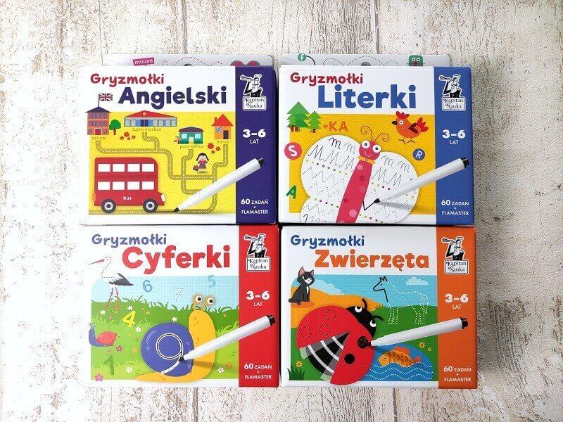Gryzmołki - pakiety kreatywnych zadań dla dzieci