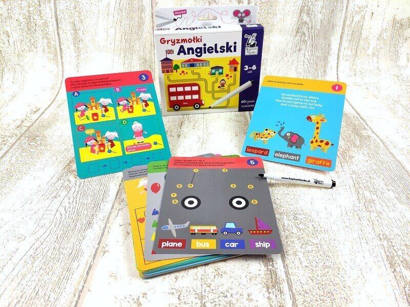 Angielski. Gryzmołki - Rozwiązuj zagadki i poznawaj angielskie słówka!