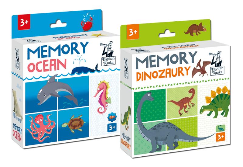 Memory Dinozaury i Memory Ocean