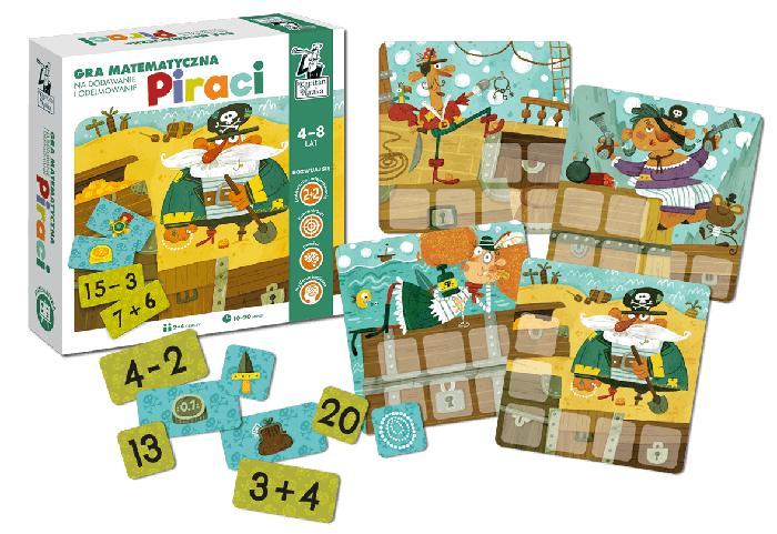 Gra edukacyjna Piraci - gra dla dzieci 4+