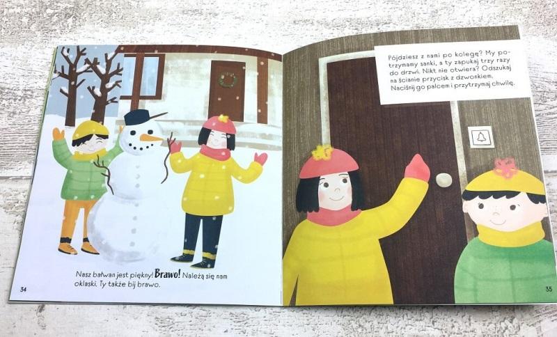Pory roku. Dotknij, przesuń, potrząśnij - książeczka interaktywna dla przedszkolaków