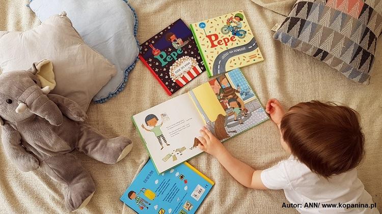 Prezenty pod choinkę dla dzieci - książeczki o Pepe