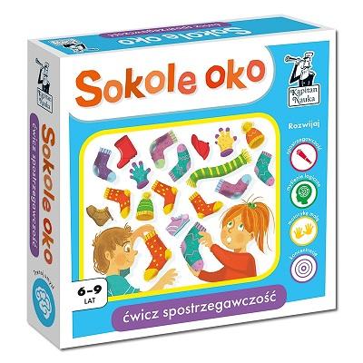 Sokole oko - pakiet edukacyjny dla uczniów od 6 do 9 lat