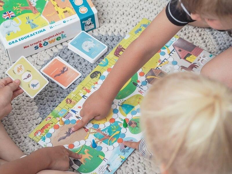 Na tropie angielskich słówek - gra do nauki angielskiego dla dzieci