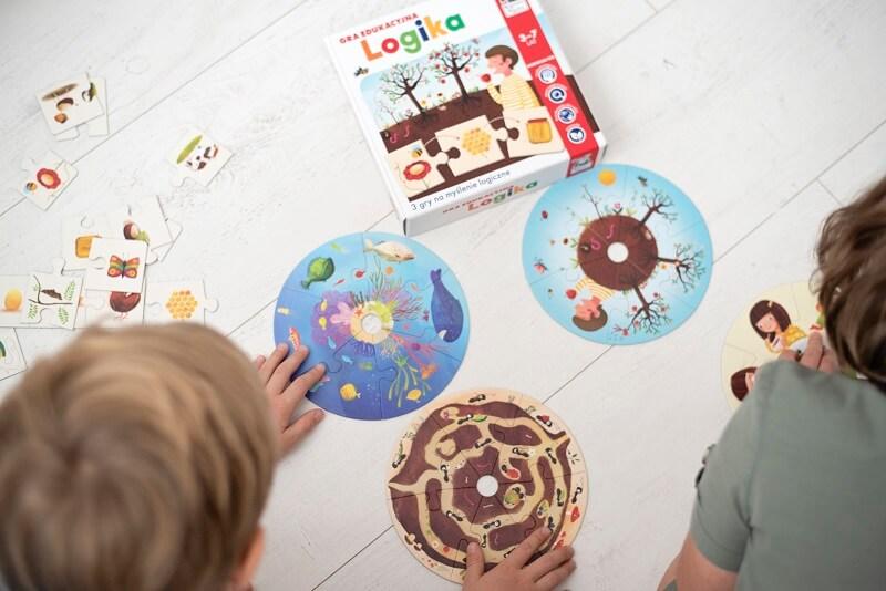 Logika - gra edukacyjna wspomagająca logiczne myślenie
