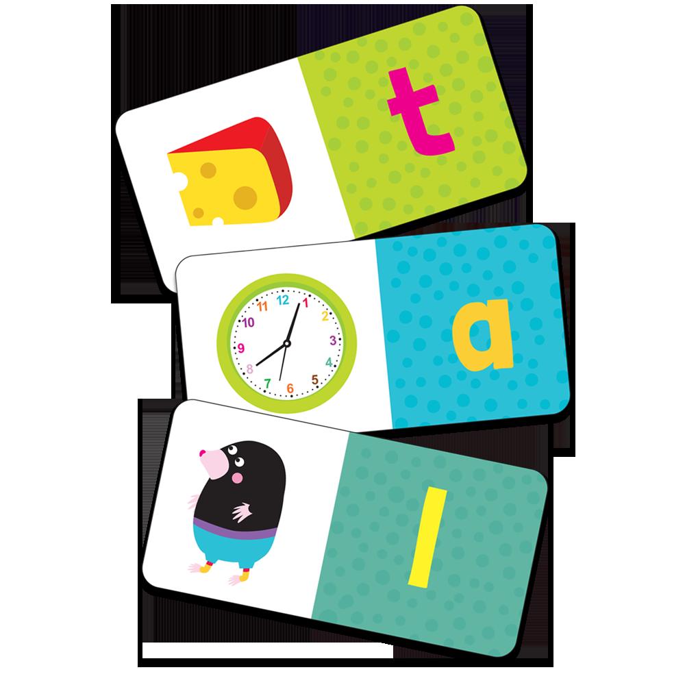 Domino obrazkowe. Alfabet - zabawa dla dzieci w wieku 3+