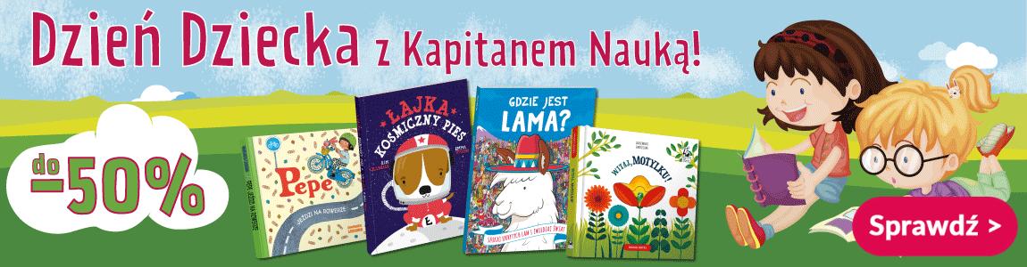 Książki na Dzień Dziecka - Kapitan Nauka
