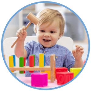 zabawy dla dzieci do 2 lat