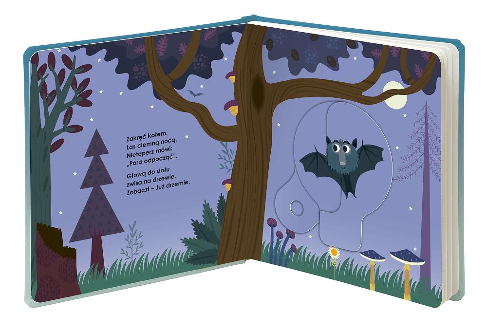 Magiczne koło. Dobranoc śpiochu! - książeczka dla dzieci od 2 roku życia