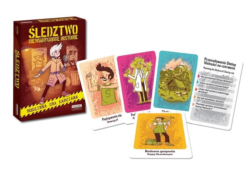 wizualizacja gry planszowej sledztwo dla rodziny