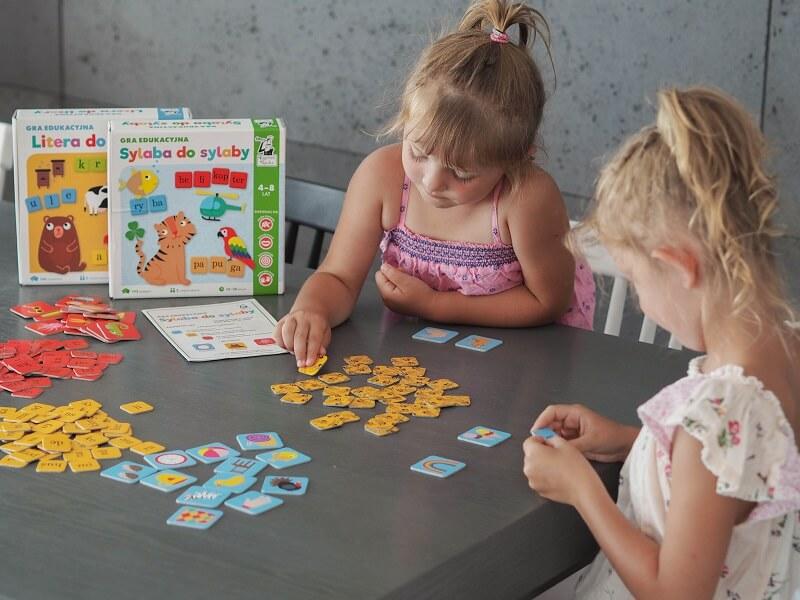 Sylaba do sylaby - gra edukacyjna wspomagająca naukę czytania
