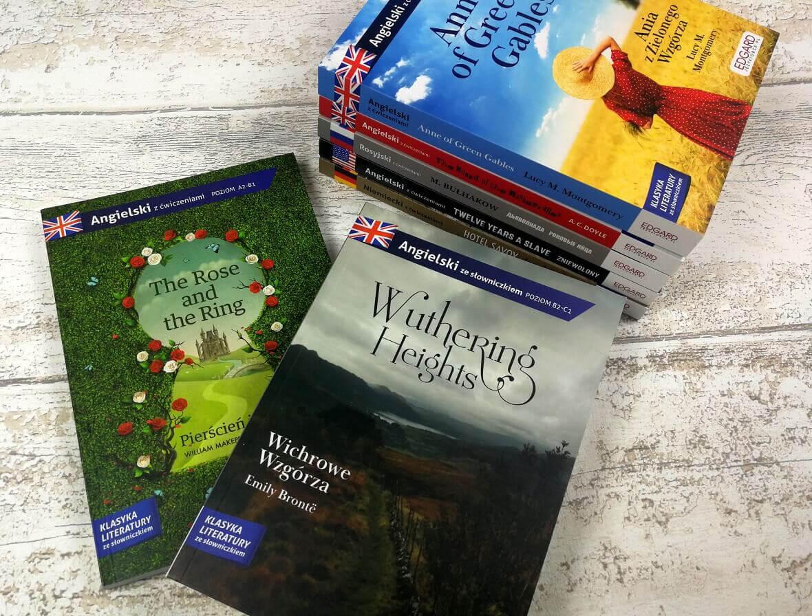 Adaptacje i powieści do nauki języków obcych