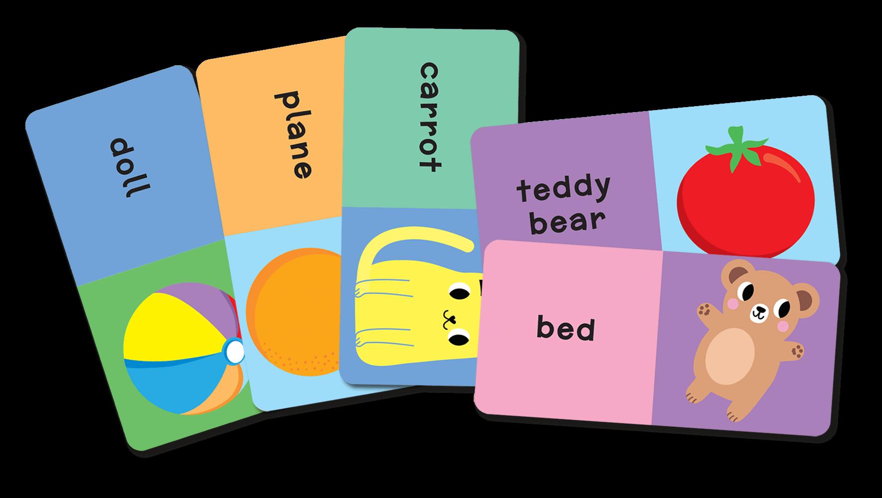 Domino Angielski. Pierwsze słowa - gra dla dzieci od 3 lat