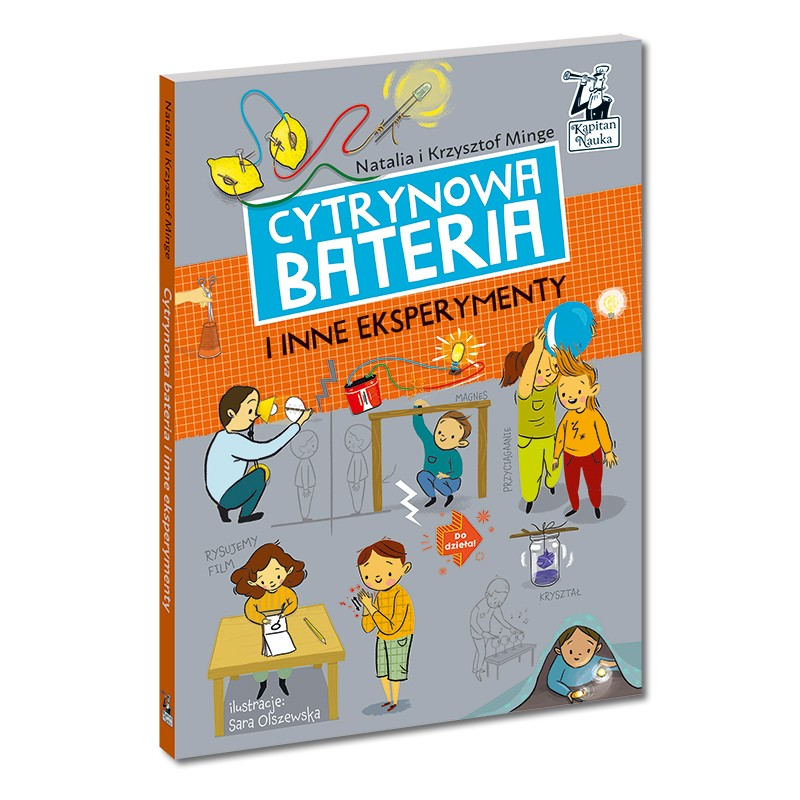 Cytrynowa bateria - książka dla dzieci powyżej 6 roku życia