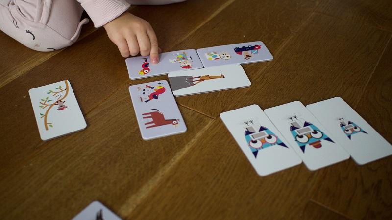 Domino - gra dla dzieci od 3 roku życia