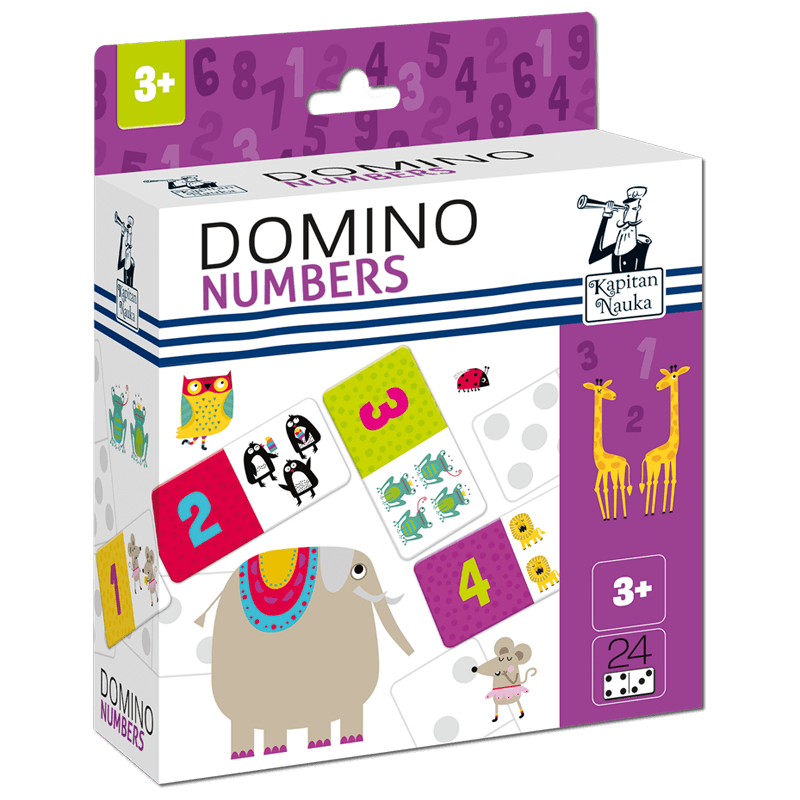 Educationa lDomino numbers 3+ Captain Smart  3+