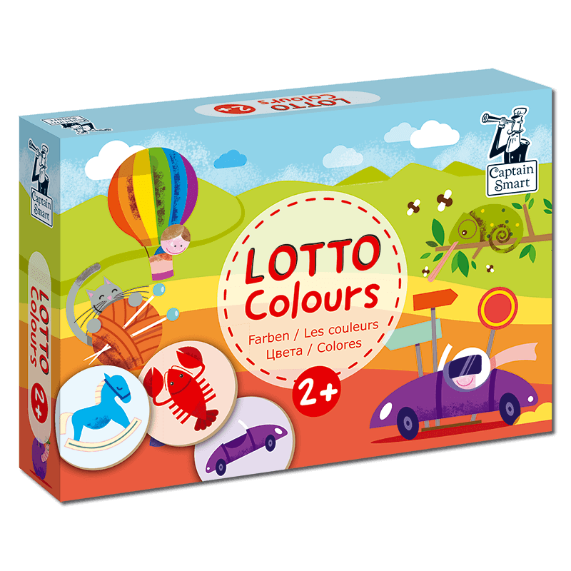 Lotto Seasons Captain Smart educational games for childrens