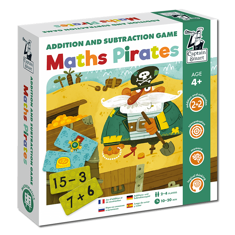 Captain Smart Educational puzzles for kids 6+