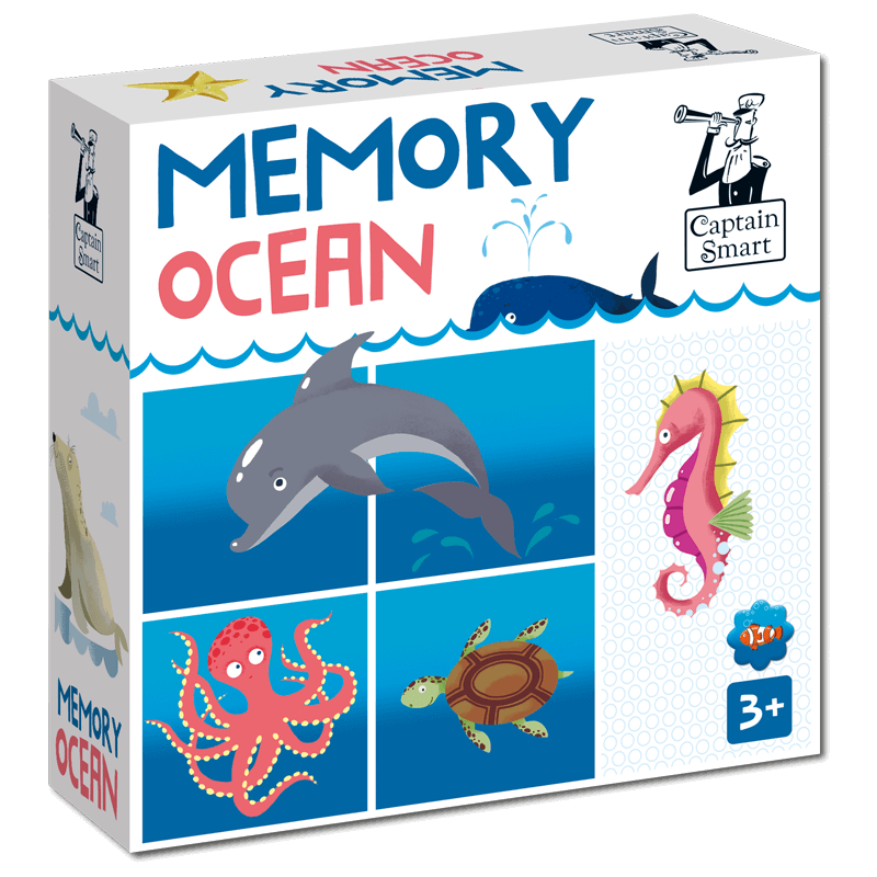 Memory ocean Captain Smart games for children 3+