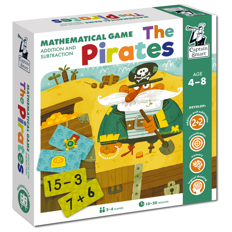 Captain Smart Mathematical education game for kids 4+