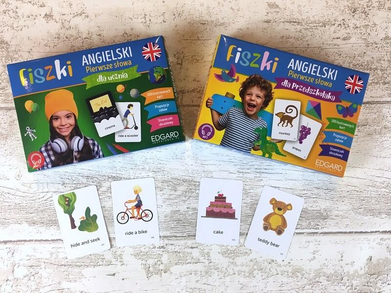 Fiszki angielskie dla dzieci