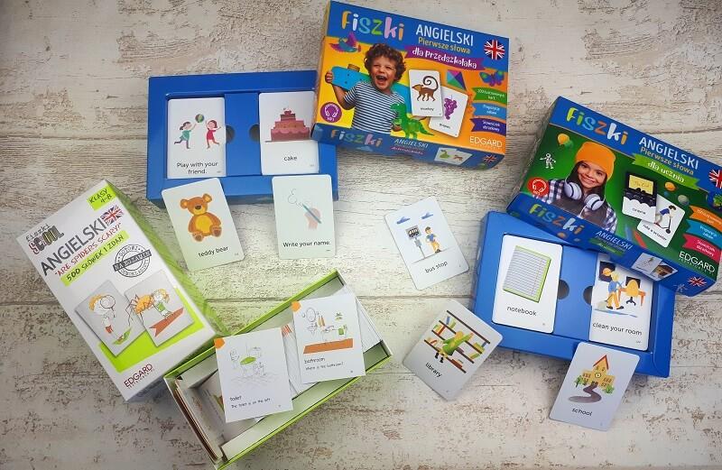 Fiszki dla dzieci do nauki języka angielskiego