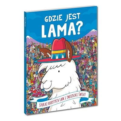 Gdzie jest lama? Książka dla dzieci