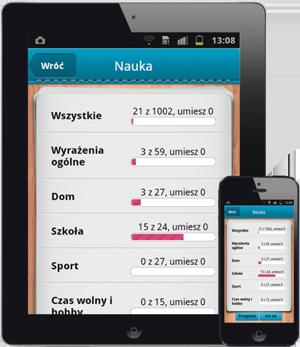 iFiszki Niemiecki 1000 najważniejszych słów - aplikacja mobilna - nauka języka niemieckiego