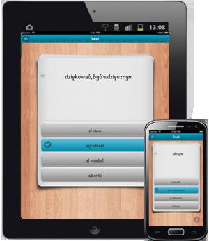iFiszki+ Hiszpański - aplikacja mobilna - nauka hiszpańskiego
