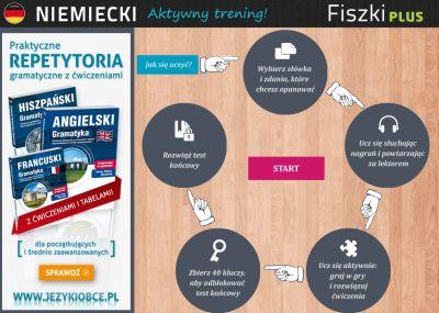 Niemiecki Fiszki PLUS 1000 najważniejszych słów dla początkujących - lekcje