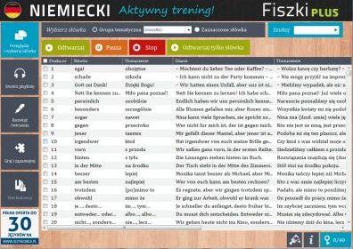 Niemiecki Fiszki PLUS dla średnio zaawansowanych 1  - ćwiczenie 1