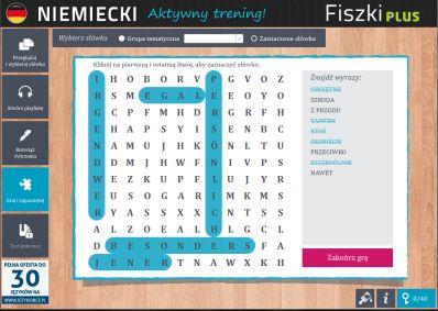 Niemiecki Fiszki PLUS dla średnio zaawansowanych 1  - ćwiczenie 3