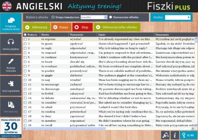 Angielski Fiszki PLUS dla średnio zaawansowanych 2 - ćwiczenie 1