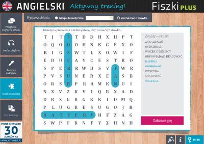 Angielski Fiszki PLUS dla średnio zaawansowanych 2  - ćwiczenie 3
