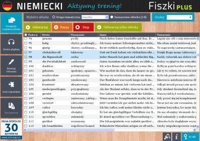 Niemiecki Fiszki PLUS dla średnio zaawansowanych 3  - ćwiczenie 1
