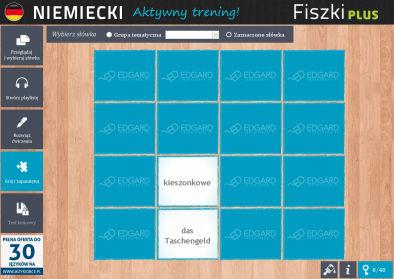 Niemiecki Fiszki PLUS dla średnio zaawansowanych 3  - ćwiczenie 3