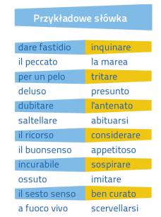 Włoski Fiszki PLUS dla średnio zaawansowanych 2 - kurs włoskiego
