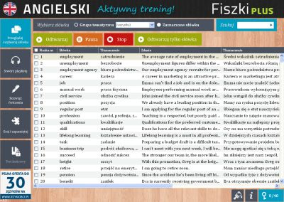 Angielski Fiszki PLUS Business English 1 - zadania