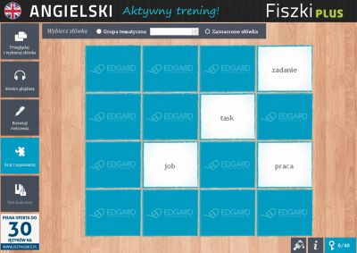 Angielski Fiszki PLUS Business English 1 - ćwiczenie 1