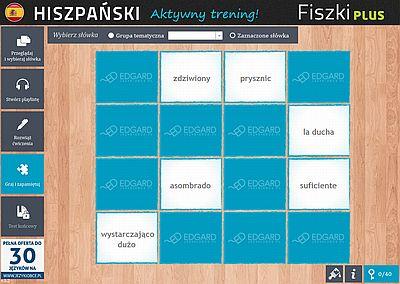 Hiszpański Fiszki PLUS dla początkujących 2 - ćwiczenie 2