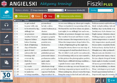 Angielski Fiszki PLUS Kolokacje - ćwiczenie 1