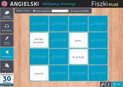 Angielski Fiszki PLUS Kolokacje - ćwiczenie 3